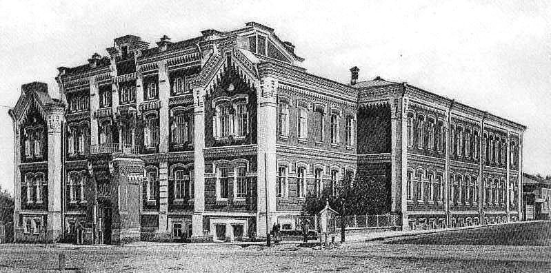 Здание построено по проекту архитектор Юлия Дютеля