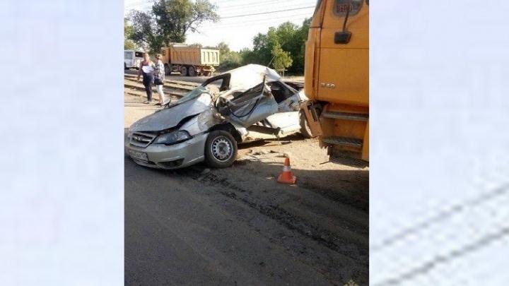 Виновник утренней аварии в Красноармейском районе умер до приезда скорой