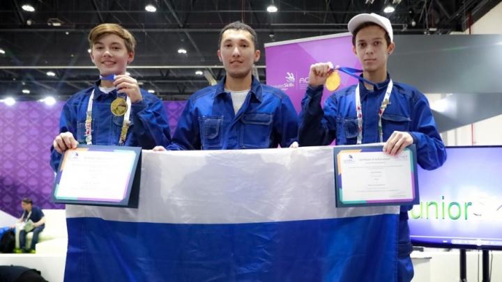 Челябинские школьники взяли золото на мировом чемпионате WorldSkills в Абу-Даби