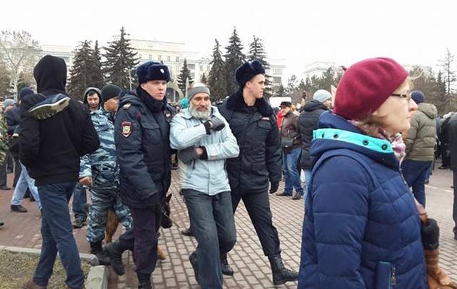 Участников митинга Навального в Челябинске оштрафовали на 10 тысяч рублей