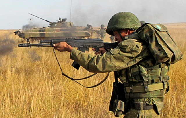 Мотострелков ЮВО подняли по тревоге под Волгоградом