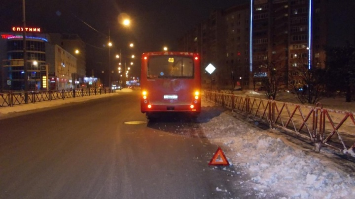 Водитель дал по тормозам: в ярославской маршрутке пострадал ребёнок