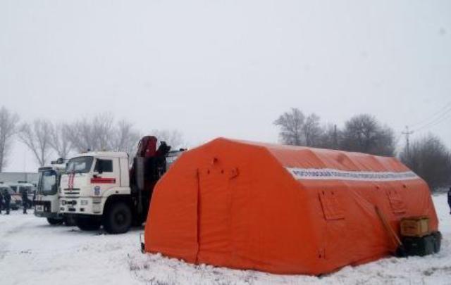 На трассах в Ростовской области появились мобильные пункты обогрева