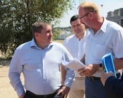Жилой квартал «Бейкер стрит» посетил губернатор Волгоградской области