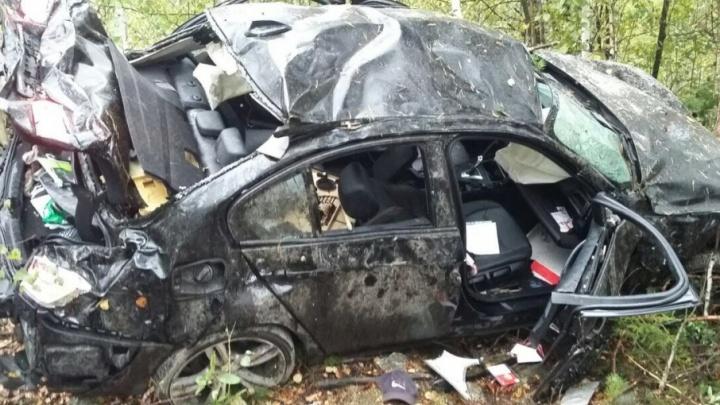 Бригада вахтовиков из Перми разбилась в аварии: два человека погибли