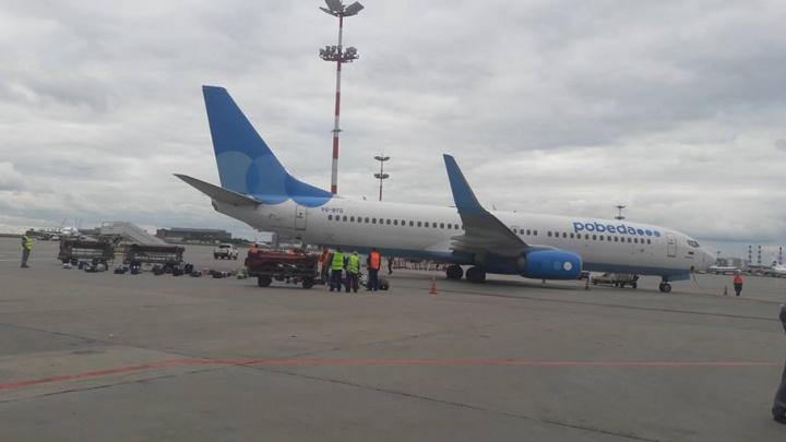 Самолет Ростов – Санкт-Петербург совершил экстренную посадку в Москве