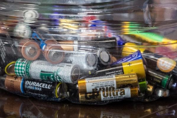 Начать сбор батареек в городе пыталось и экологическое движение «Этас»