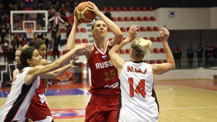 Разница в счёте — 113 очков: в Перми женская сборная России по баскетболу разгромила команду Албании