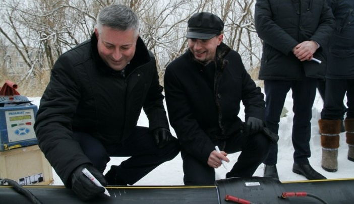 В следующем году в Северодвинске впервые появится природный газ