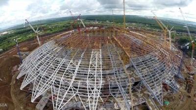 «Самара-Арена» в разрезе лет: самарец снял документальный фильм о строительстве стадиона