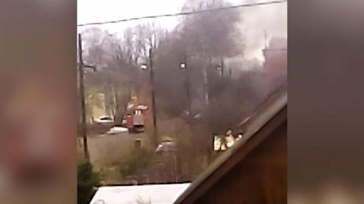 В Ярославле на Соколе начался пожар: что горит