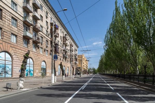 Проспект Ленина станет просторнее и обзаведется новыми полосами