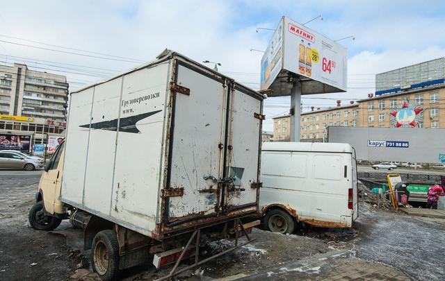 Челябинск пообещали очистить от брошенных машин за три месяца