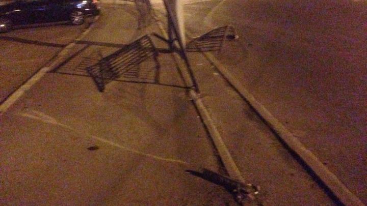 В Ростове водитель Audi устроил ДТП и сбежал