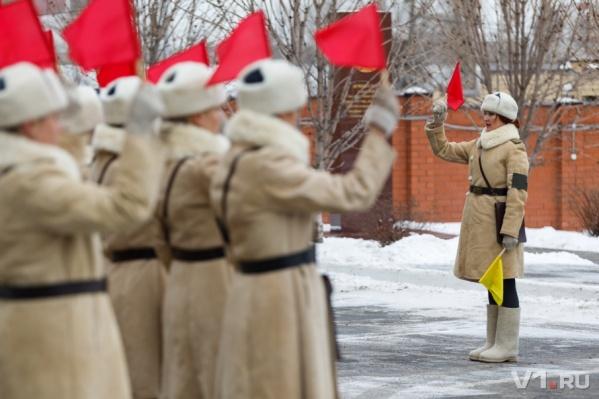 Первые красавицы полиции займут посты 2 февраля рано утром