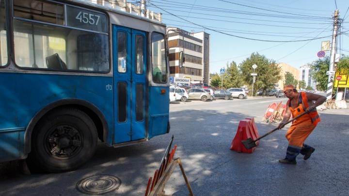 Ремонт Порт-Саида грозит отрезать троллейбусу путь на вокзал Волгоград-1