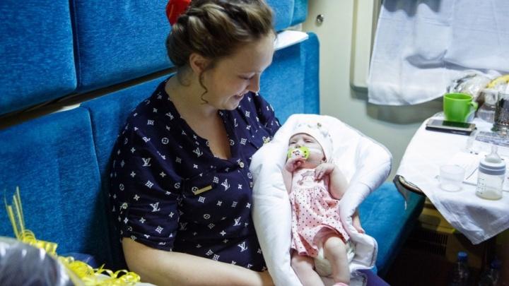 «В Питере жить»: в Прикамье вернулась девочка, на спасение которой пермяки собрали 800 тысяч рублей