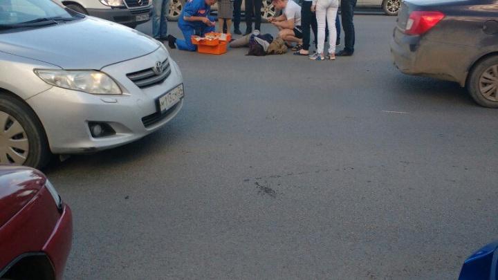 В Тракторозаводском районе иномарка сбила девушку-подростка