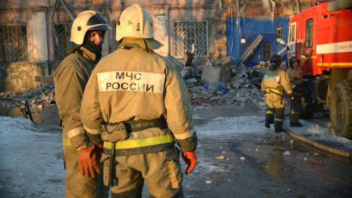 В Прикамье при пожаре погибли двое мужчин