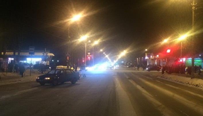 В Северодвинске водитель сбил на переходе малыша