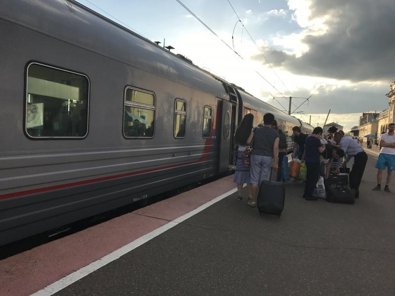 Можно добраться и на поезде