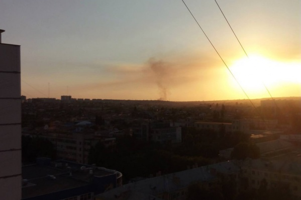 Пожарные остановили пожар на подступах к «Максимке»