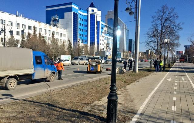 Тюменские власти потратят 420 миллионов рублей, чтобы привести в порядок дороги, тротуары и газоны