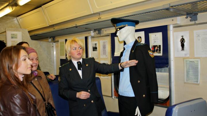 В Ярославле открылся вагон-музей: фотографии