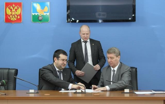Между «Запсибкомбанком» и администрацией Пыть-Яха подписано соглашение о сотрудничестве