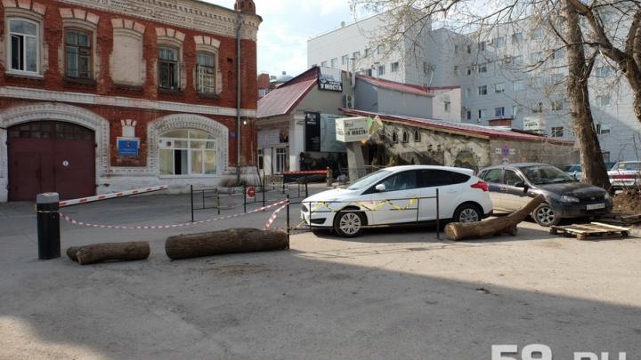 Пермский театр «У Моста» и жильцы соседнего дома будут судиться из-за перекрытой дороги