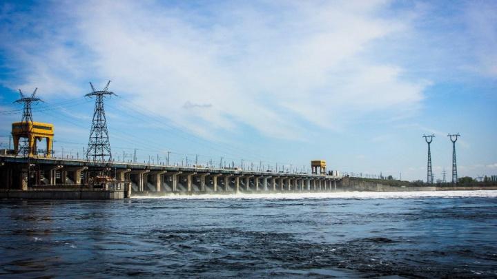 Сброс воды через Волжскую ГЭС ненамного увеличен
