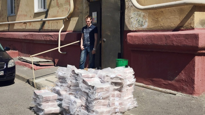 В Волгограде затопило новый штаб команды Навального