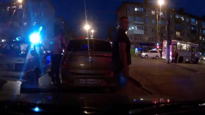 Бдительный волгоградец поймал пьяного таксиста