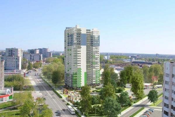 Жилой дом «Пионер» возводится в микрорайоне Краснова