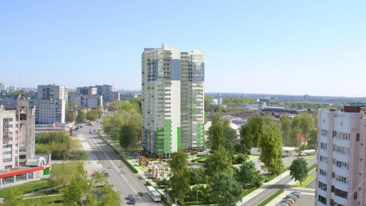 В жилом доме «Пионер» упали цены на квартиры на верхних этажах