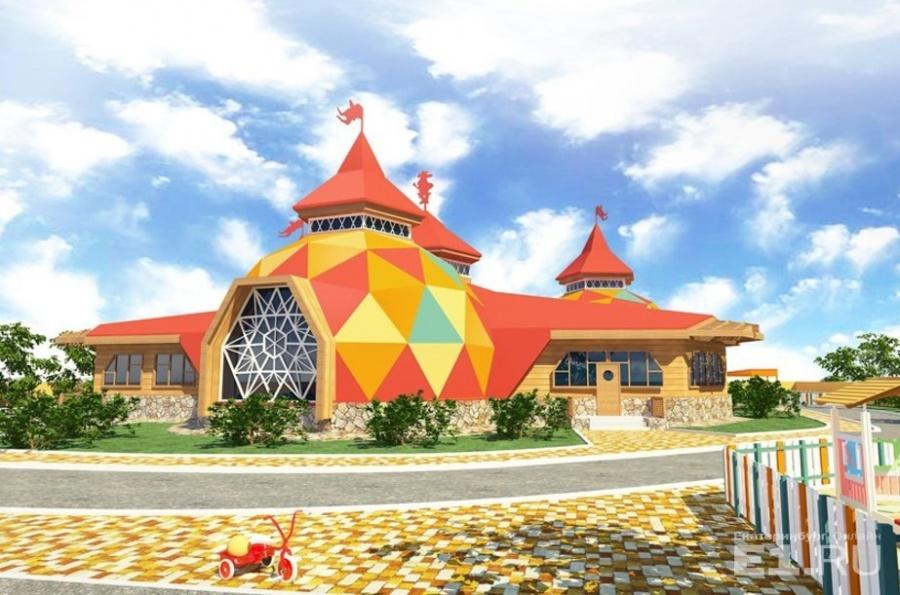 Круглые садики проектировали и в Екатеринбурге – это, например, концепт Андрея Молокова, нынешнего главного архитектора города.