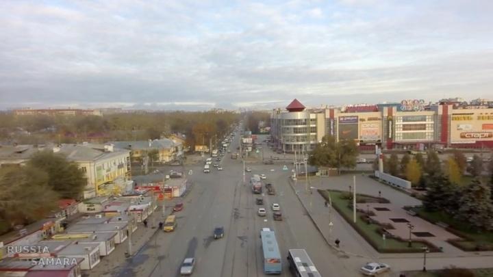 Светофор — на пользу: смотрим свысока на перекресток Победы и Кирова