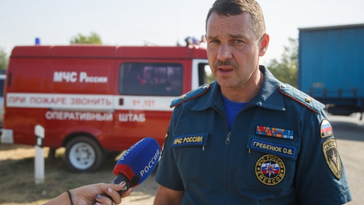 МЧС: при пожарах в Дубовском районе ни одного дома не сгорело