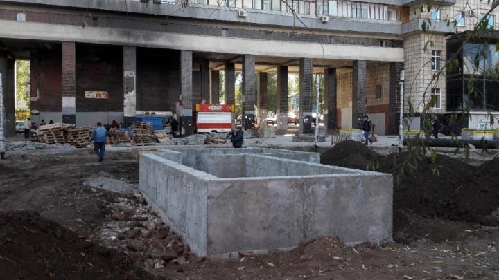 В самарском «Шанхае» построили новую чашу фонтана и поставили лавочки