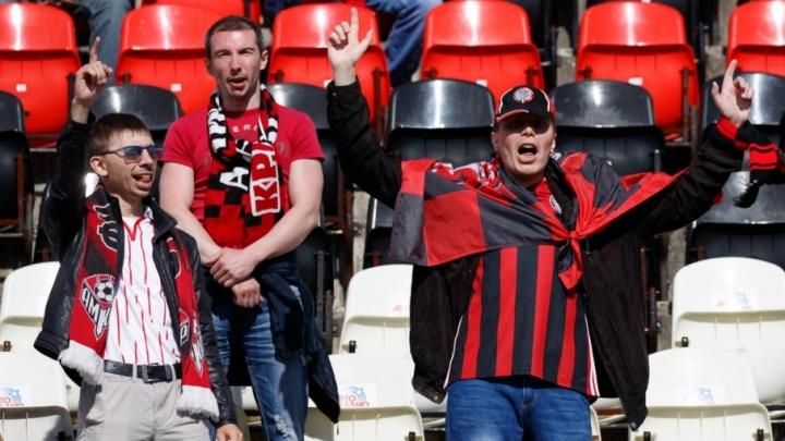 Болельщики «Амкара» и «Молота-Прикамье» призвали пермяков одеться в клубные цвета в День города