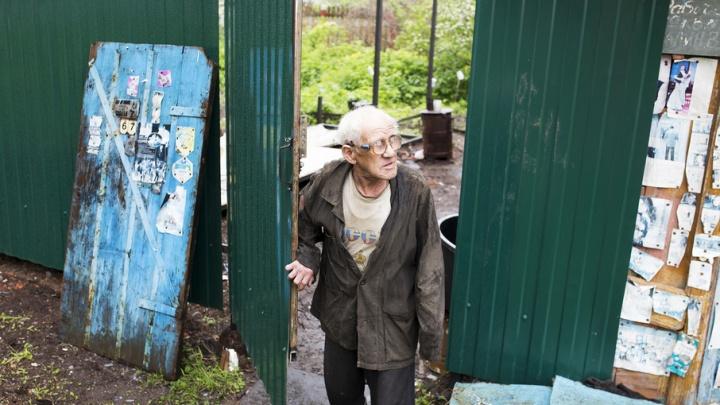 Ярославцы собрались построить новый дом ветерану из землянки