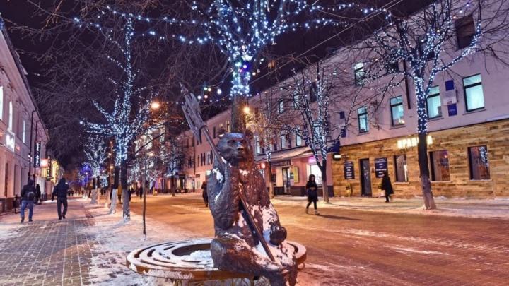 Наряжать Ярославль к Новому году будут прошлогодними украшениями