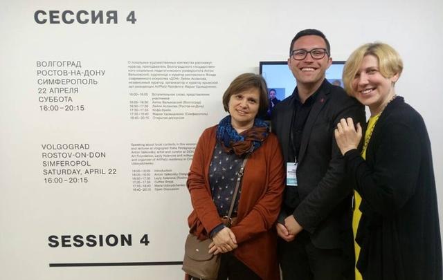 Москвичам рассказали о современном искусстве Волгограда