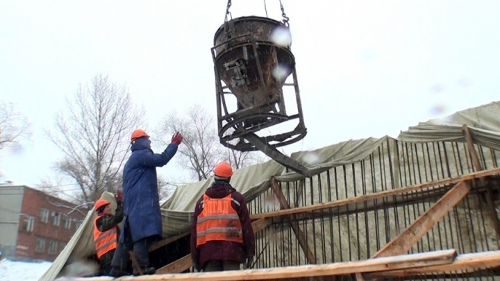 В Ярославле начали собирать новый мост через Которосль
