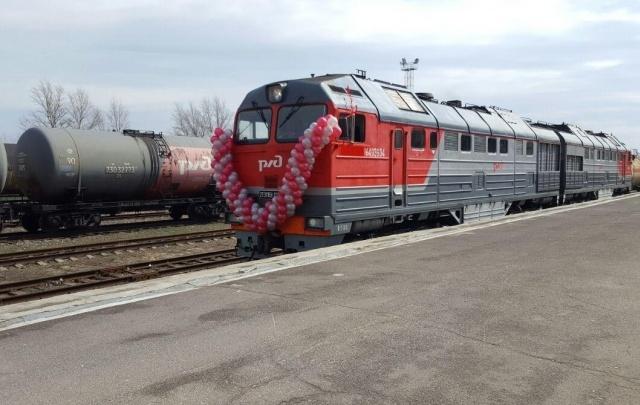 На участке Морозовская–Волгодонская стартовало регулярное движение поездов