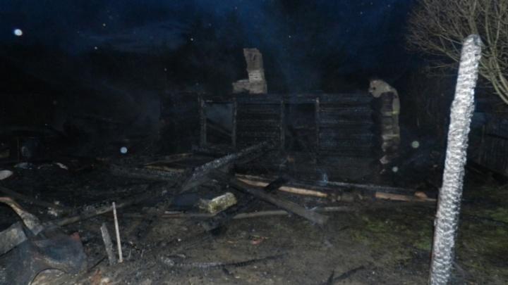 В Ярославской области в огне погибла пенсионерка