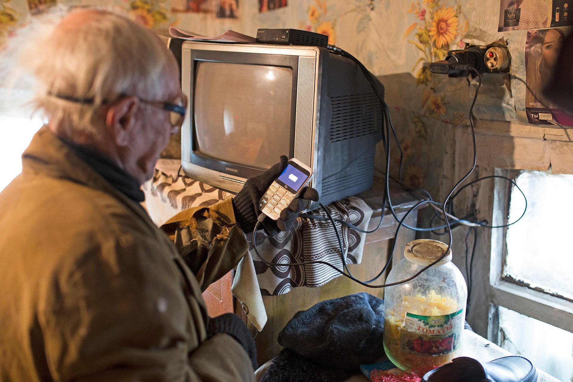 Ни телефон, ни телевизор не работают