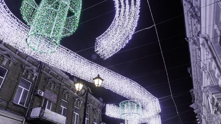 На украшения Ростова ко Дню города выделят 5 млн рублей
