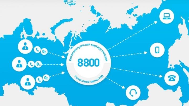 «Ростелеком» предлагает компаниям бесплатно подключить номер «8-800»
