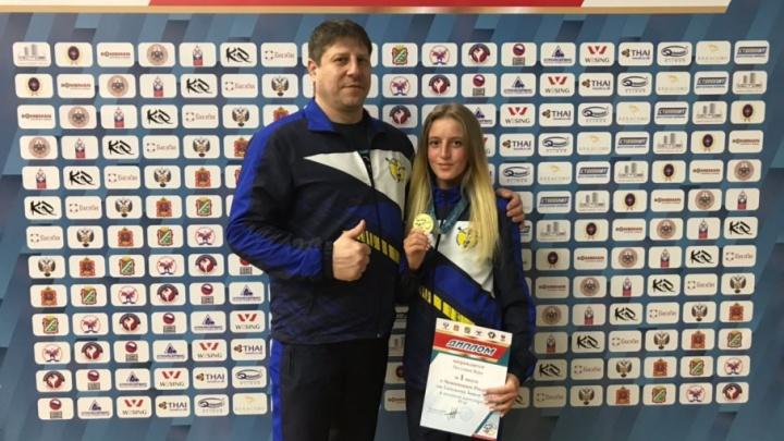 Челябинская Дюймовочка в пятый раз стала чемпионкой России по тайскому боксу